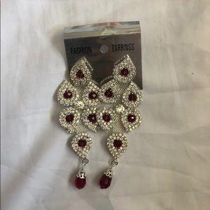 New Red Earrings